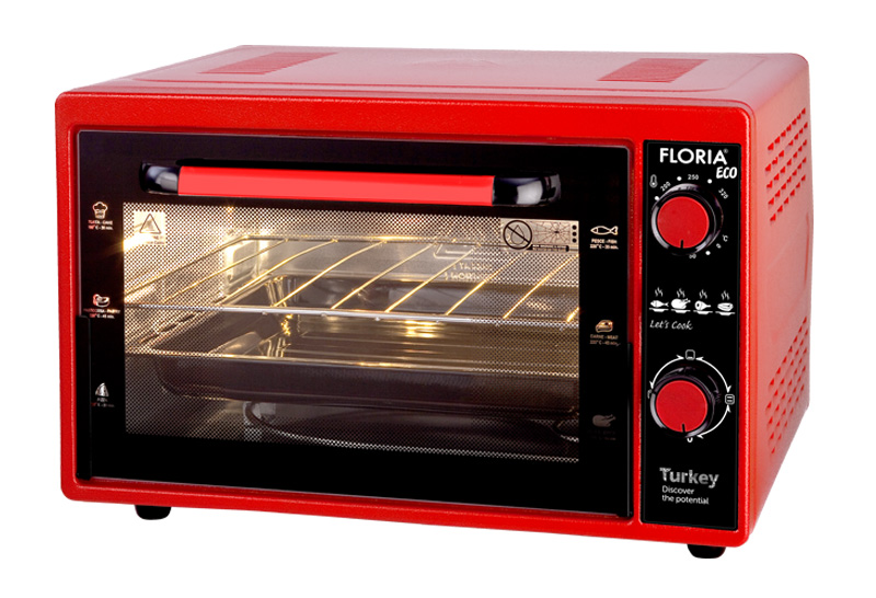 Electric Oven (Eco Red / Black)